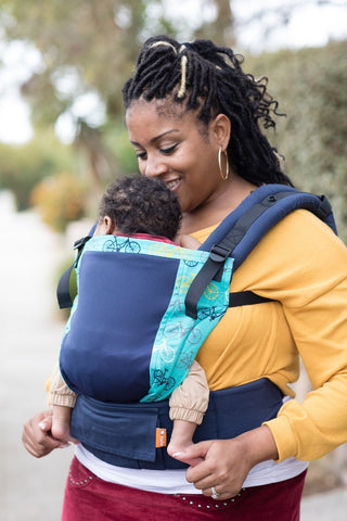 TULA FREE-TO-GROW CARRIER - COAST ROUND AND ROUND