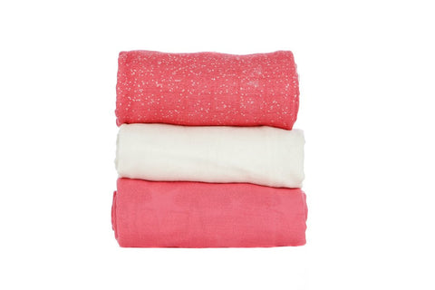 TULA BLANKET SET (3 PCS) - EMULSION BLOOMING