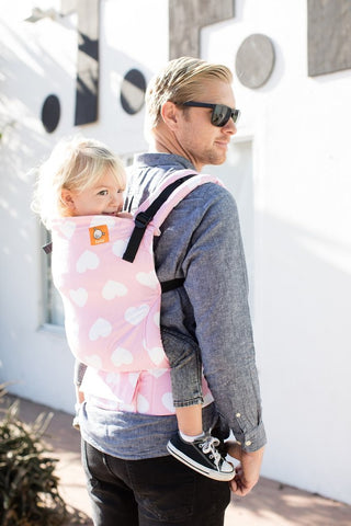 TULA TODDLER CARRIER - LOVE YOU SO MUCH