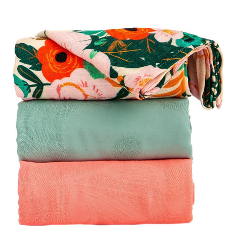 TULA BLANKET SET (3 PCS) - MARIGOLD