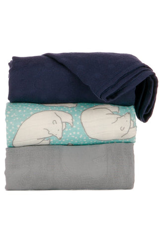 TULA BLANKET SET (3 PCS) - POLAR CAPS