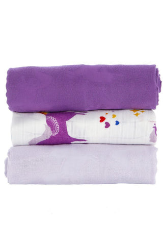 TULA BLANKET SET (3 PCS) - PRANCE