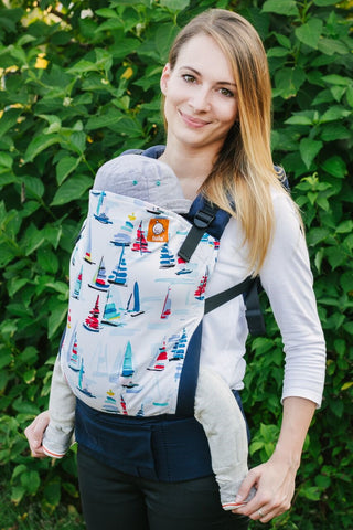 TULA TODDLER CARRIER - SEA OF DREAMS (EXCLUSIVE DESIGN)