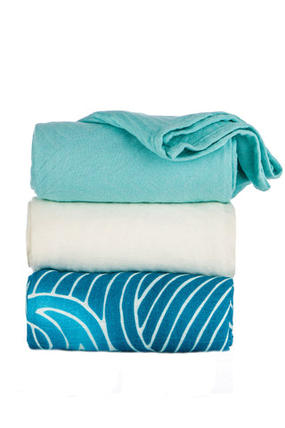 TULA BLANKET SET (3 PCS) - WAVES