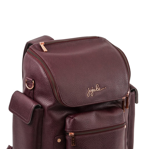 FOREVER BACKPACK - PLUM ROSE GOLD