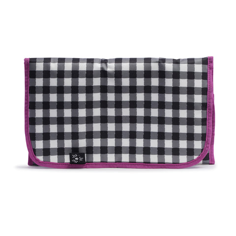 CHANGING PAD - ONYX GINGHAM STYLE