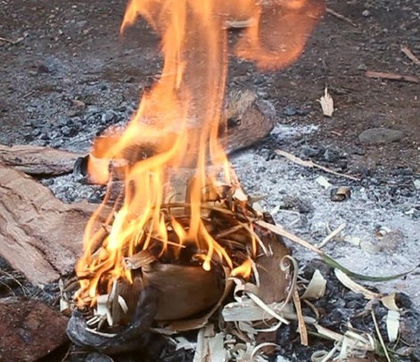 bushcraft fire starting