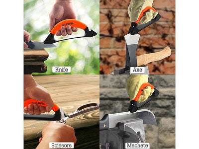 Sharpal 3-IN-1 Knife/Axe/Scissor Sharpener