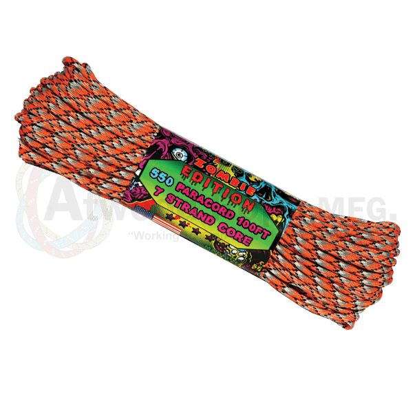 Atwood Rope Company 550 Paracord Zombie Corrosion 30mtr-Bushcraft-BushcraftLab