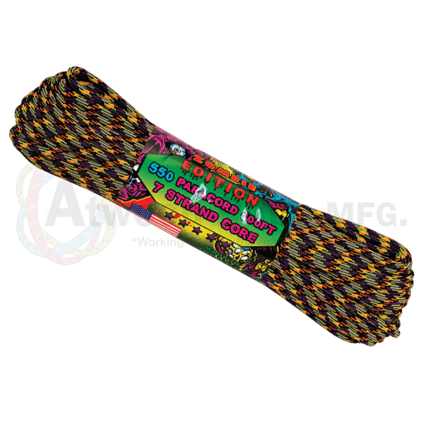 Atwood Rope Company 550 Paracord Zombie Vile 30mtr-Bushcraft-BushcraftLab