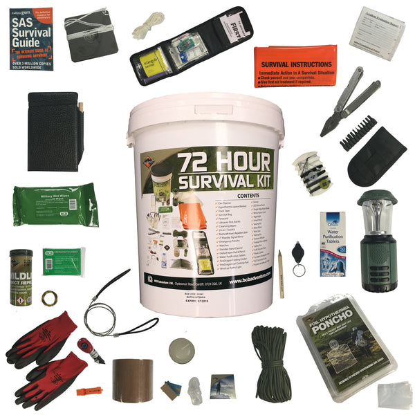 Bcb 72 Hour Home Survival Kit Disaster Prepping Bucket