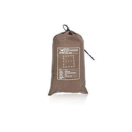 DD 4mx4m Tarp Coyote Brown