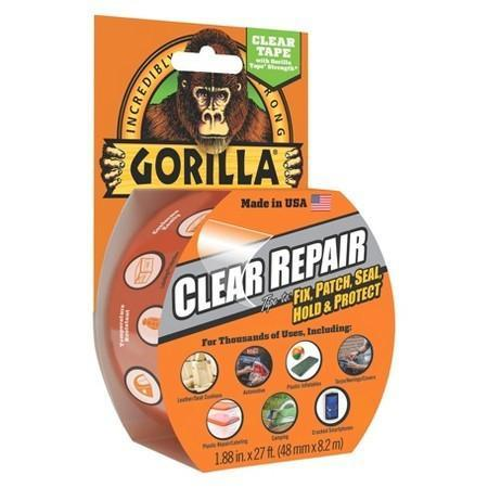 Gorilla Clear Repair Tape-Bushcraft-BushcraftLab