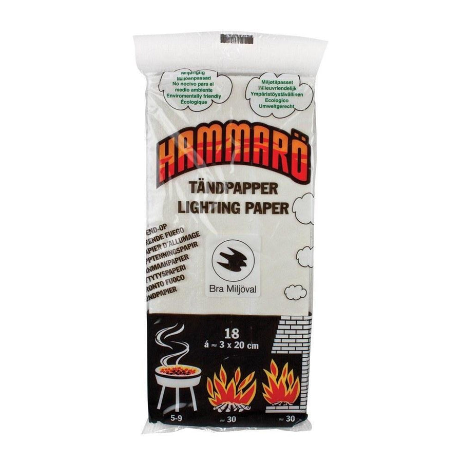 Hammaro Fire Lighting Tinder Cards-Camping-BushcraftLab