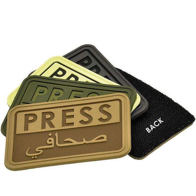 Hazard 4 Arabic Press Morale Patch-Clothing-BushcraftLab