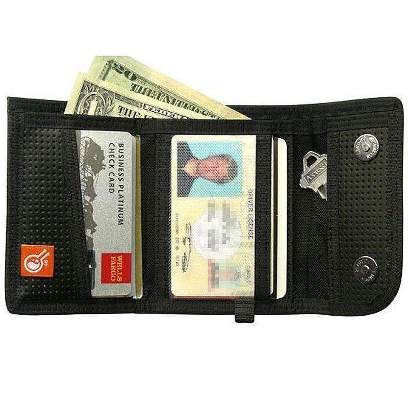 Hazard 4 Civilian Lab Leather Duo Retractor Wallet