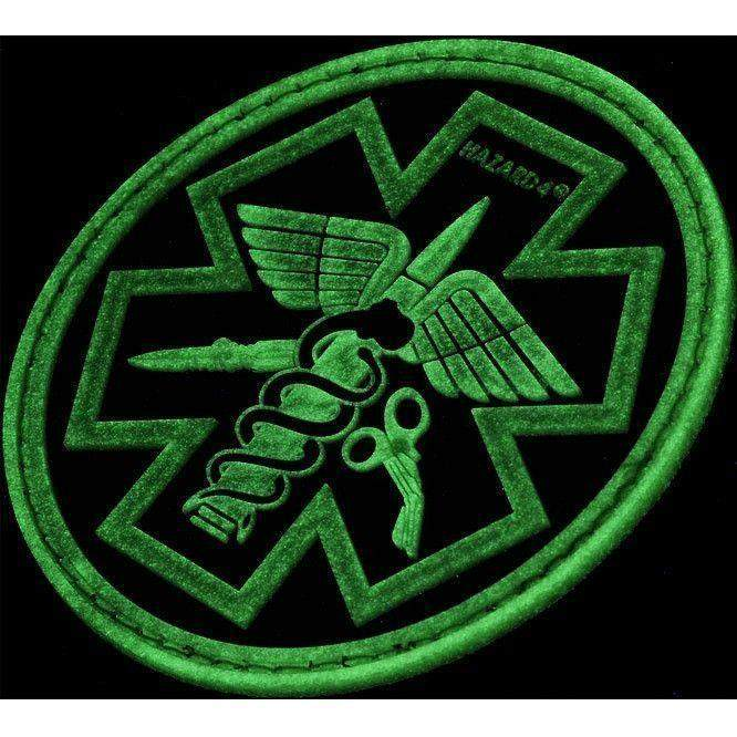 Hazard 4 Combat Caduceus Paramedic Morale Patch-Clothing-BushcraftLab
