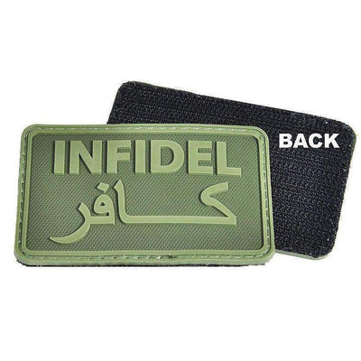 Hazard 4 Infidel Morale Patch-Clothing-BushcraftLab