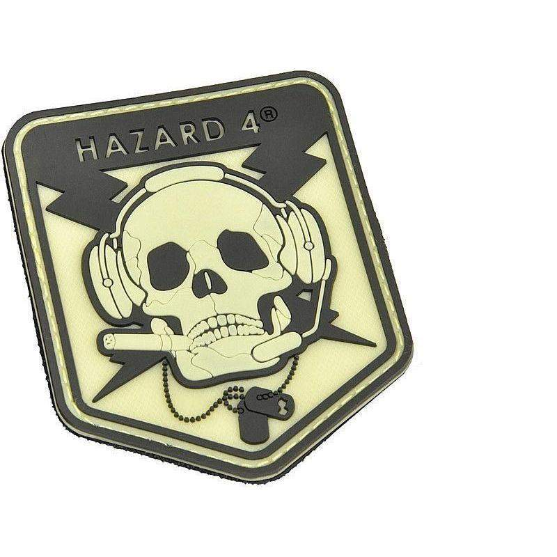 Hazard 4 Operator Skull Morale Patch-Clothing-BushcraftLab