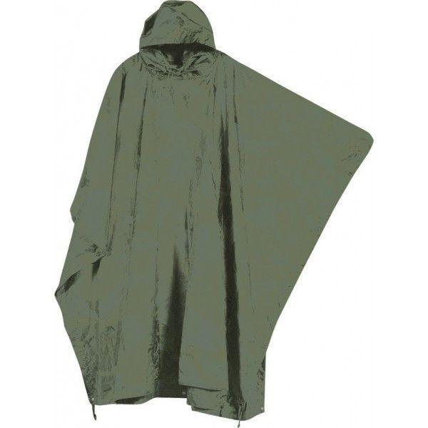 Mil-Com Water Proof Poncho Olive