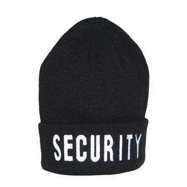 Mil-Tec Security Watch Cap Black-Clothing-BushcraftLab