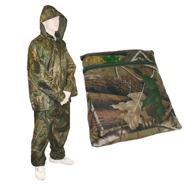 NGT 2 Piece Camo Waterproof Suit