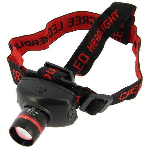 NGT Cree Q5 300 Lumen Headlamp-Torches-BushcraftLab