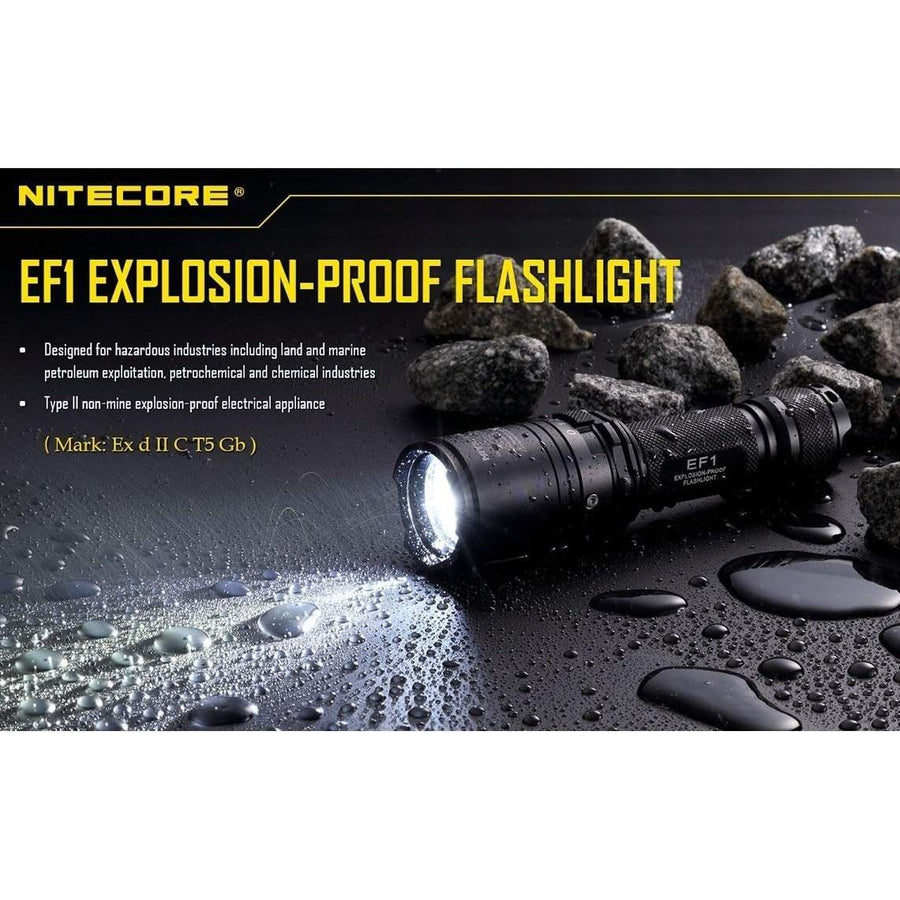 Nitecore EF1 Explosion Proof Flashlight-Torches-BushcraftLab