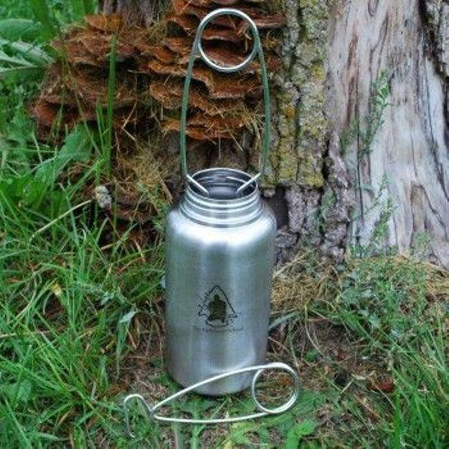 Pathfinder Stainless Steel Bottle Hanger-Camping-BushcraftLab