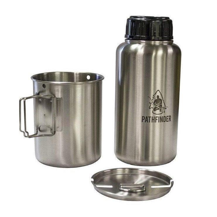 Pathfinder Stainless Steel Bottle Nesting Set-Camping-BushcraftLab