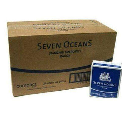 Seven Oceans Emergency Biscuits Box-Prepping Gear-BushcraftLab