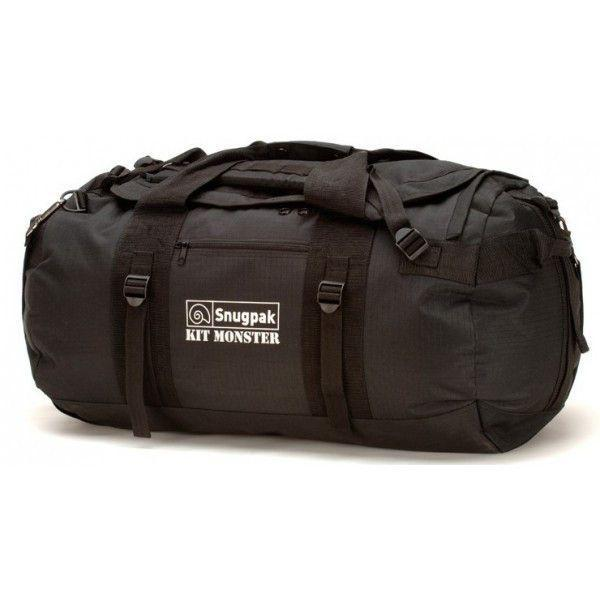 Snugpak Kit Monster 65L Holdall Black-Bags-BushcraftLab