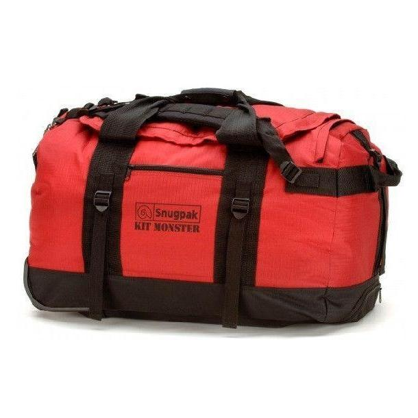 Snugpak Kit Monster 65L Holdall Red