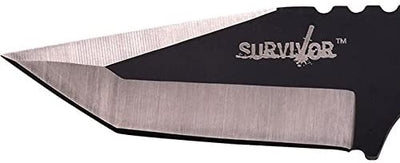 Survivor Paracord Wrapped Survival Knife