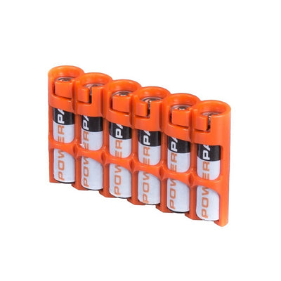 Storacell AAA Battery Case Orange