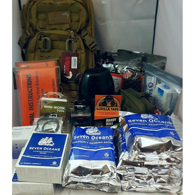 Two Person SHTF Emergency Grab Bag-Preppers-BushcraftLab