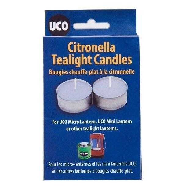 UCO Micro 6 Pack Tealight Citronella Candles