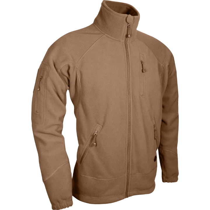 Viper Special Ops Fleece Jacket Tan