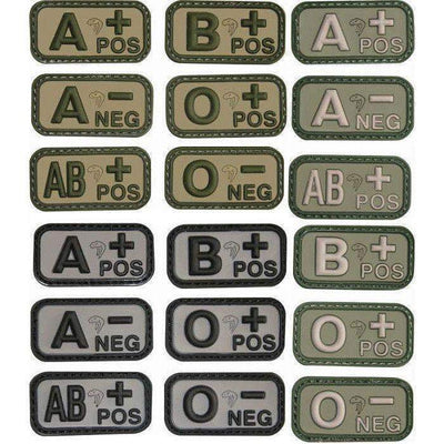 Viper Tactical Blood Group Morale Patches-Apparel-BushcraftLab