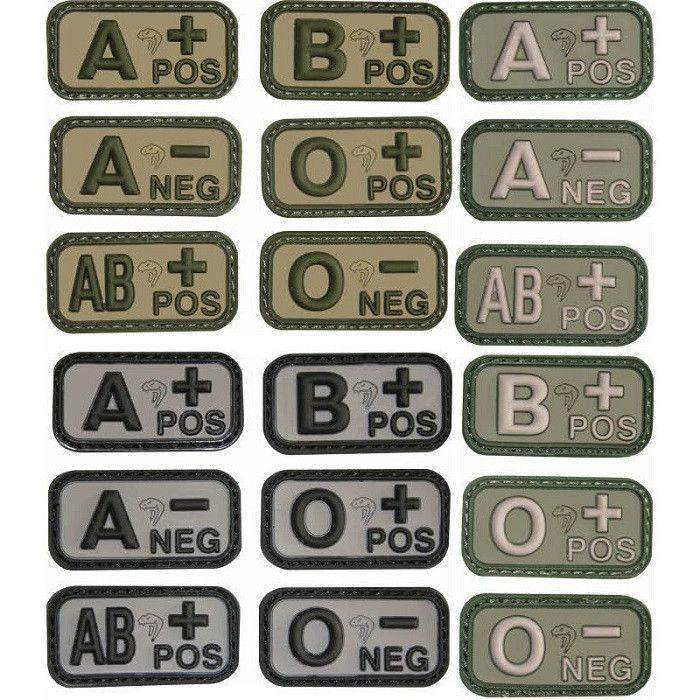 Viper Tactical Blood Group Morale Patches