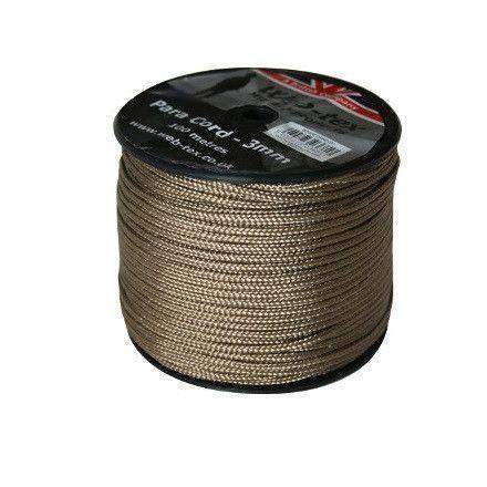 Web-Tex Paracord Roll 100M Coyote