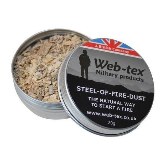 Web Tex Steel Of Fire Dust-Bushcraft-BushcraftLab