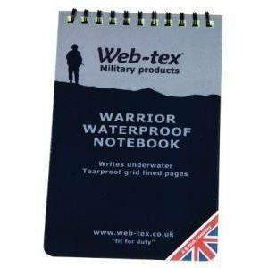 Web-Tex Warrior Waterproof Note Pad-EDC-BushcraftLab