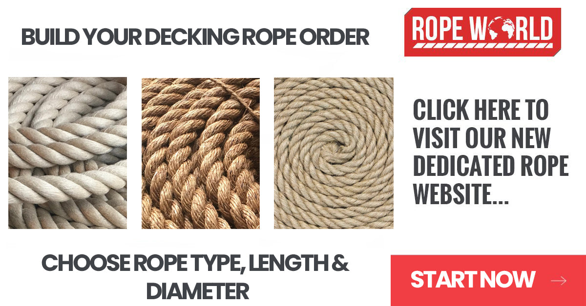 Rope Synthetic hemp Polyhemp for Gardens /& Decking /& Boating  10mm All lengths
