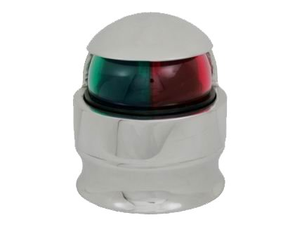 AISI 316 Marine Grade Stainless Steel Cast Pedestal Bow Navigation Light