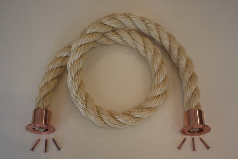Buff Rope COPPER fixings