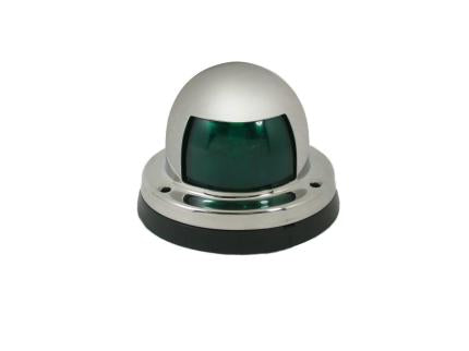 AISI 316 Marine Grade Stainless Steel Green Starboard Boat Ship Navigation Light