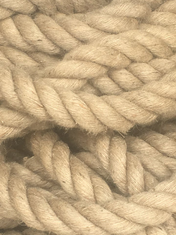 Decking Rope Garden Rope Natural Brown Jute Rope 36MM Dia X 20M