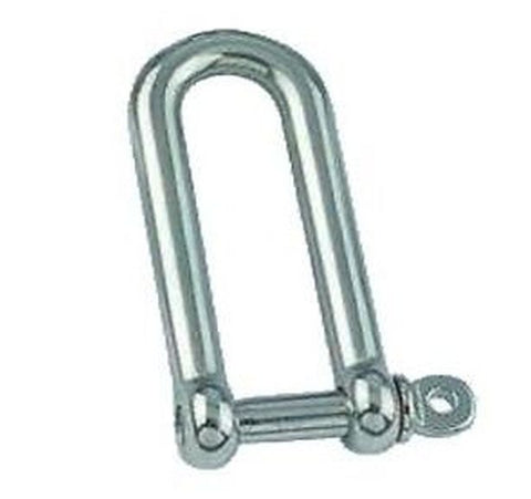 AISI 316 Marine Grade Stainless Steel Long Dee Shackle Boat Shackle 4mm