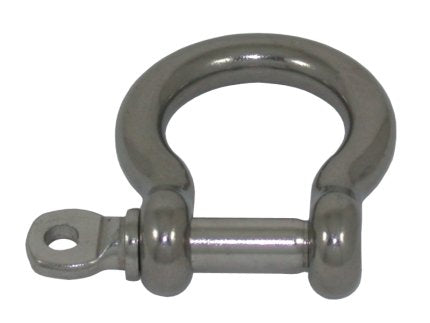 AISI 316 Marine Grade Stainless Steel Bow Chain Shackle Anchor Shackle 16mm